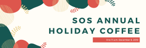SOS Annual Holiday Coffee